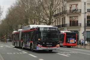 14 nouveaux Scania Citywide GNV pour Lille