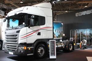 1000 km d�autonomie pour le camion GNL Scania � double r�servoir