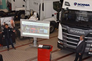 Formation : un camion au gaz naturel pour les étudiants du GARAC