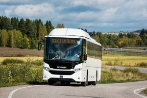 Interlink : l'autocar GNV de Scania élu bus durable de l'année