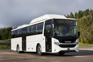 Scania va lancer une version GNL de son autocar Interlink