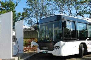 Br�sil � Scania exp�rimente un bus au biogaz