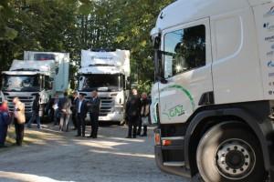 Scania confirme le succ�s de ses � Rencontres gaz 2014 �