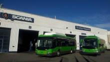 24 bus GNV Scania pour la région de Madrid