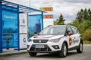 Finlande : Pizza Hut associé à Seat pour des livraisons 100 % biogaz