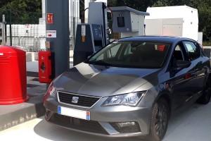 58.000 km en 2 ans pour cette Seat GNV circulant entre France et Espagne