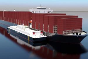 Etats-Unis : Shell et Crowley construisent une barge géante de ravitaillement en GNL