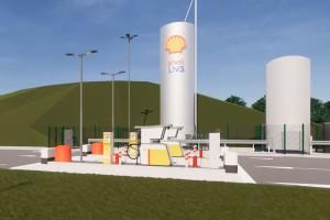 Shell annonce l'arrivée de sa première station GNL autoroutière en France