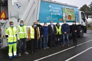 Seine-et-Marne : une benne GNV pour le SIETREM