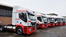 Italie : SMET réceptionne ses 10 premiers Iveco Stralis GNL