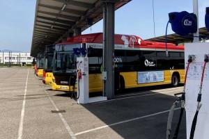 Bus GNV : Mesure Process équipe le dépôt de Soléa à Mulhouse