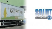 La mobilité GNV à l'honneur à Solutrans