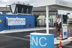 Endesa inaugure une première station 100 % bioGNV dans les Landes