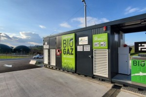 La station bioGNV des Monts du Lyonnais candidate aux Green Solutions Awards