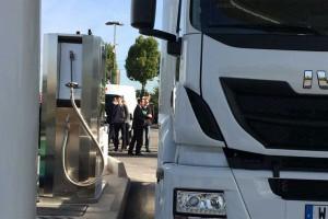 La première station GNL d'Ile-de-France ouvre ses portes à Rungis