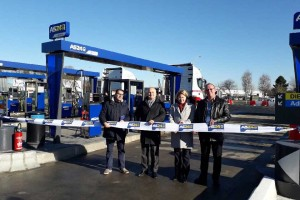 AS 24 inaugure la station GNV de Blois