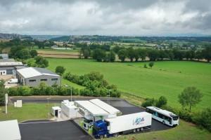 Aveyron : Gaz'up inaugure une station GNV à Rodez