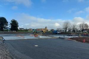 Dans le Finistère, les travaux de la station GNV de Saint-Martin des Champs s'accélèrent