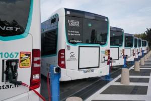 Bus GNV : Rennes Métropole inaugure une station privative