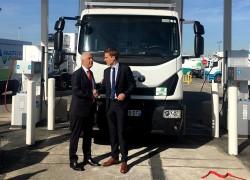 GNVERT inaugure une nouvelle station GNV sur le marché de Rungis