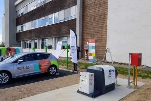 Bretagne : le SDE 35 inaugure une première station GNV privative