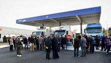Total inaugure sa première station GNV AS24 à Nantes