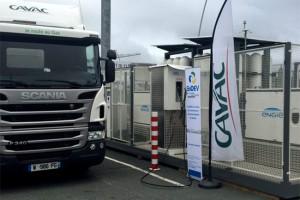 Le SYDEV et l'AFG Ouest lancent l'expérimentation d'une station GNV en Vendée