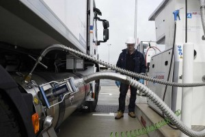 Seine-et-Marne : la station Air Liquide de Servon s'ouvre au GNL