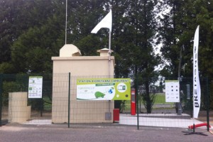 La premi�re station bioGNV bretonne inaugur�e � Locmin�