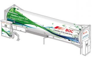 BOC pr�sente une station GNL mobile � Birmingham