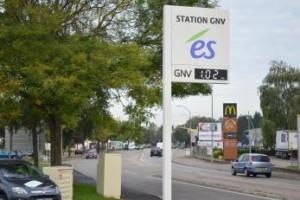 Une troisi�me station GNV inaugur�e � Strasbourg