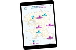 Stations GNV : le Finistère précise son calendrier de déploiement