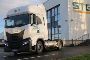 Le groupe STG commande 30 camions au gaz naturel à Iveco