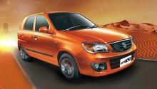La nouvelle Suzuki Alto GNV présentée en Inde