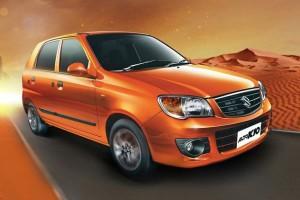 La nouvelle Suzuki Alto GNV pr�sent�e en Inde