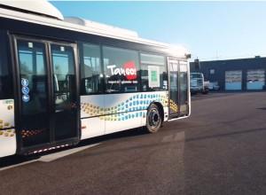 Nîmes : 9 nouveaux bus GNV pour le réseau Tango