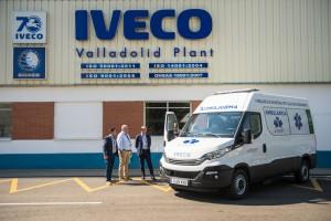La première ambulance au GNC d'Europe dévoilée en Espagne
