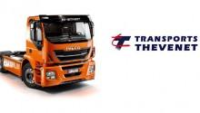 Les Transports Thevenet reçoivent leur premier camion GNV