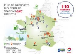 Total et AS24 annoncent un objectif de 110 stations GNV en France d'ici 2026
