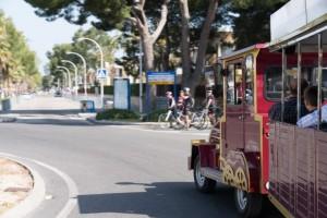 Un petit train touristique au GNV pour Playa de Muro