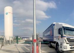 Transalliance inaugure une station GNLC dans le Grand Est
