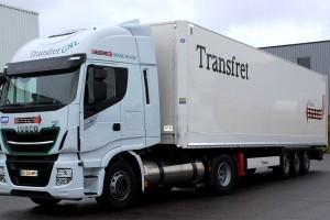 Transfret reçoit ses premiers camions au gaz naturel