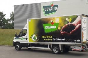Devaud, Réseau Le Saint  : « Il n'y a plus de raison d'investir autrement que dans le GNV »
