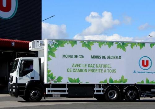 GNV dans la grande distribution : U Logistique témoigne