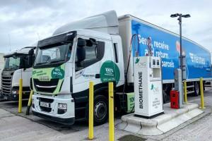 Royaume-Uni : 14 nouvelles stations bioGNV pour les poids lourds