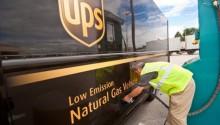 Du BioGNV pour les camions UPS de Memphis et Jackson