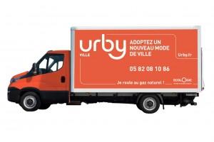 Urby choisit le GNV pour sa logistique urbaine