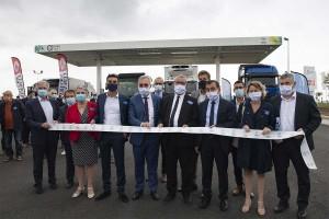 Vendée : la station bioGNV de Fontenay-le-Comte officiellement inaugurée