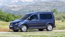 Le nouveau Volkswagen Caddy GNV disponible en boîte automatique DSG