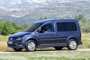 Le nouveau Volkswagen Caddy GNV disponible en bo�te automatique DSG